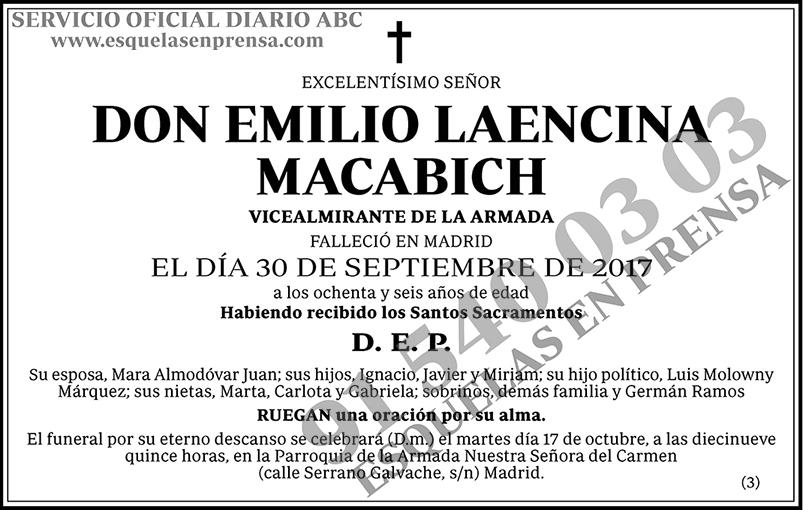 Emilio Laencina Macabich